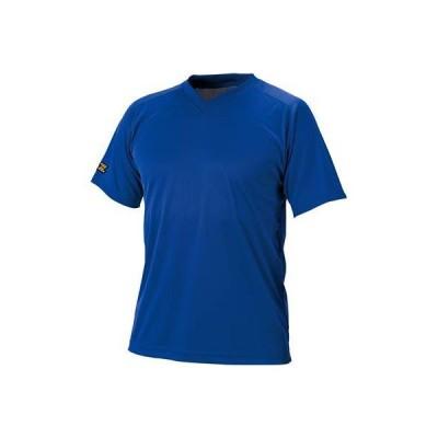 ゼット(ZETT) 野球 ベースボールVネック半袖Tシャツ ロイヤルブルー L BOT635