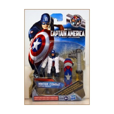Hasbro Captain America Movie 4 Inch Series 2 Action Figure Winter Combat Captain America【並行輸入品】
