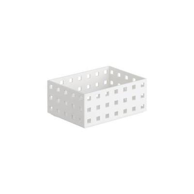 吉川国工業所  小物入れ 収納ケース ブリックス 140スリム M W(ホワイト)
