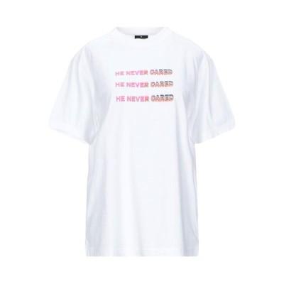MARCELO BURLON Tシャツ  レディースファッション  トップス  Tシャツ、カットソー  半袖 ホワイト