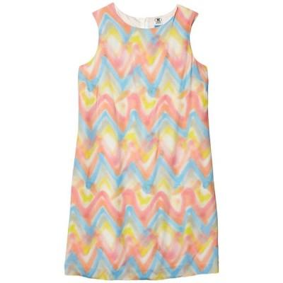 エム ミッソーニ レディース ワンピース トップス Spray Print Chevron Sleeveless Shift Dress