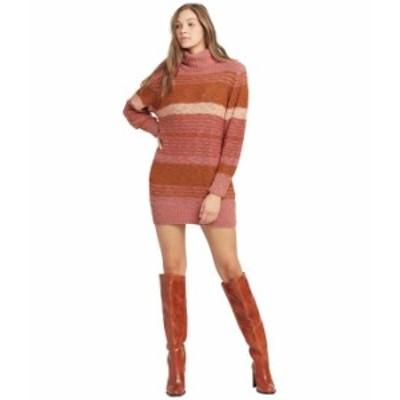 エルスペース レディース ワンピース トップス Jetsetter Sweater Dress Serape Stripe