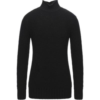 ビカム BECOME メンズ ニット・セーター トップス turtleneck Black