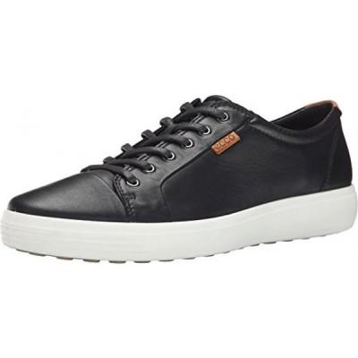 エコー(ECCO) メンズ・シューズ 紐靴ECCO Men's Soft VII Sneaker Black/Lion Oxford