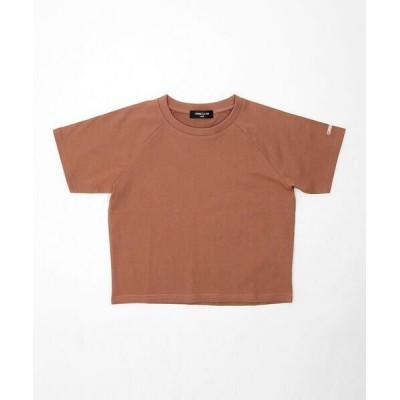 COMME CA ISM/コムサイズム DICカラー半袖Tシャツ 栗梅(くりうめ) 100cm