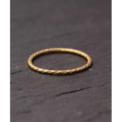 SATOMI KAWAKITA JEWELRY / R8102 K18 Yellow Gold Ring