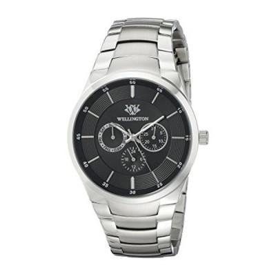 インポート・メンズ・ビジネス&カジュアル腕時計WELLINGTON Men's WN601-121 Analog Display Quartz Silver Watch 正規輸入品