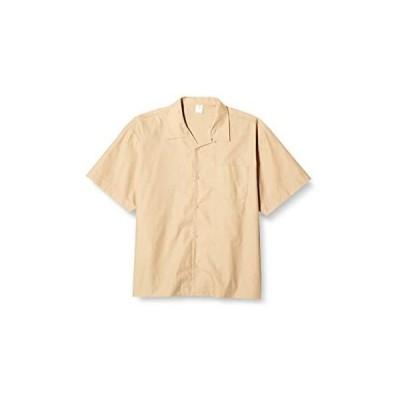 [ユナイテッドアスレ] シャツ T/Cオープンカラーシャツ (モカベージュ 2XL)
