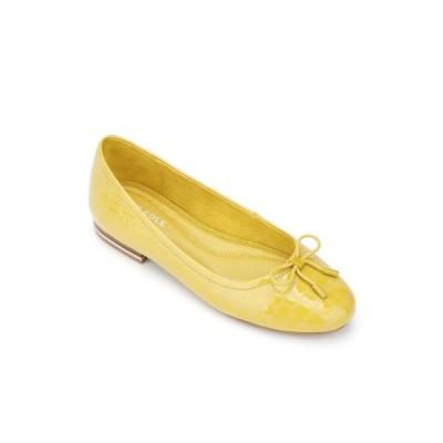 ケネスコール サンダル シューズ レディース Balance Ballet Flats Canary