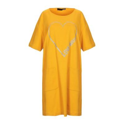 ラブ モスキーノ LOVE MOSCHINO ミニワンピース&ドレス オークル 40 レーヨン 98% / ポリウレタン 2% ミニワンピース&ドレス