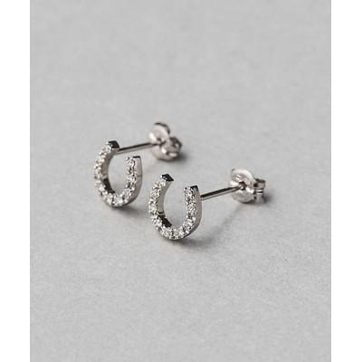 <ete bijoux(Women)/エテ ビジュ―> PT ダイヤモンド ホースシュー ピアス【三越伊勢丹/公式】
