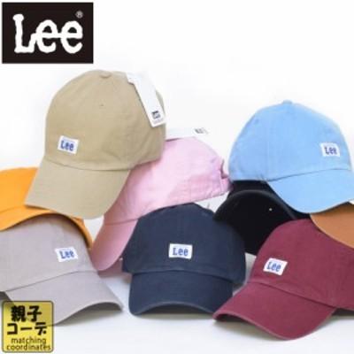 LEE リー ロゴキャップ ベースボールキャップ 帽子 キャップ ローキャップ ロゴ アメカジ lee