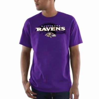Majestic マジェスティック スポーツ用品  Majestic Baltimore Ravens Purple Pick Six T-Shirt