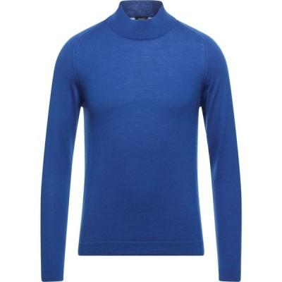 ヨーン YOON メンズ ニット・セーター タートルネック トップス turtleneck Blue