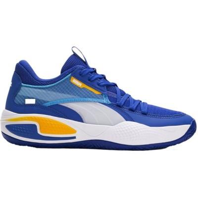 プーマ PUMA レディース バスケットボール シューズ・靴 Court Rider Basketball Shoes Blue/Orange
