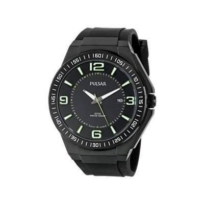 Pulsar Men's PS9227 Analog Display Japanese Quartz Black Watch