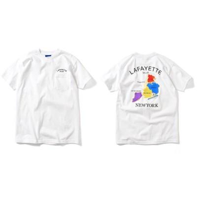 LFYT エルエフワイティー  NY SOUVENIR POCKET TEE 半袖 Tシャツ LA200119 WHITE ホワイト