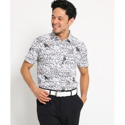 adabat / 【吸水速乾】【UVカット】ハンドペイントタッチ半袖ポロシャツ メンズ MEN トップス > ポロシャツ