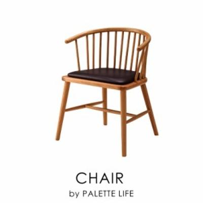チェア 椅子 ダイニングチェア 合皮 レザー 木製 黒 ナチュラル