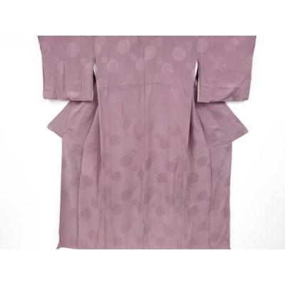 アンティーク 紋錦紗菊模様織り出し着物