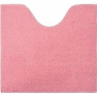 (まとめ) オカトー ツリーピーストイレマット 約55×60cm プレーン ピンク 【×2セット】