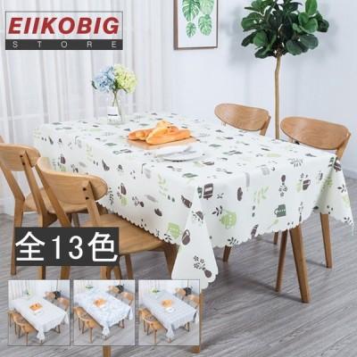 テーブルクロス 食卓カバー デスクマット テーブルマット 撥水加工 チェック柄  撥油 テーブルカバー 汚れ防止 傷防止 おしゃれ 大人気 滑り止め