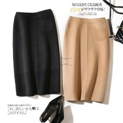 スカート 人気 レディース OL スカート ひざ丈 スカート 20代 30代 40代 スカート 柔らかい ボトムス 大きいサイズ