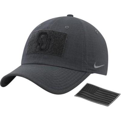 ユニセックス スポーツリーグ アメリカ大学スポーツ Oklahoma Sooners Nike Tactical Heritage 86 Team Performance Tri-Blend Adjusta