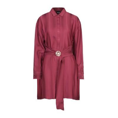 ジャストカヴァリ JUST CAVALLI ミニワンピース&ドレス ボルドー 40 レーヨン 98% / ポリエステル 2% ミニワンピース&ドレス