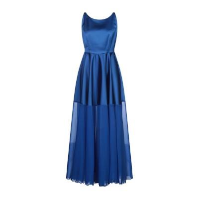 CLIPS ロングワンピース&ドレス ブライトブルー 44 ポリエステル 96% / ポリウレタン 4% ロングワンピース&ドレス