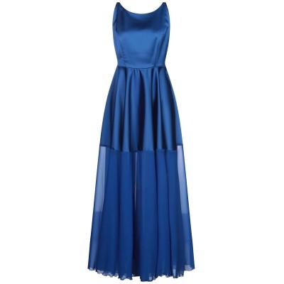 CLIPS ロングワンピース&ドレス ブライトブルー 38 ポリエステル 96% / ポリウレタン 4% ロングワンピース&ドレス