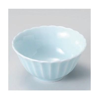 ☆ 組小鉢 ☆カスミ (青白) 10.5cmボール [ 10.5 x 5cm 149g ] 【 料亭 旅館 和食器 飲食店 業務用 】