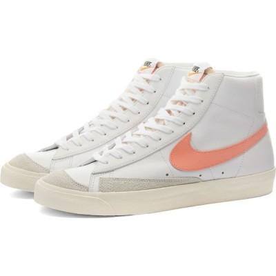 ナイキ Nike レディース スニーカー シューズ・靴 blazer mid 77 w White/Atomic Pink/Crimson