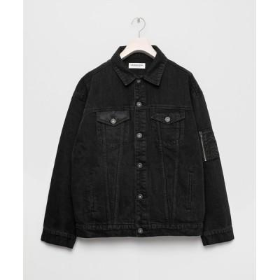 VANQUISH / Docking loose Denim Jacket WOMEN ジャケット/アウター > デニムジャケット