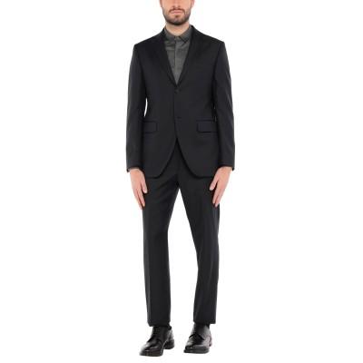 LUBIAM スーツ ダークブルー 48 バージンウール 100% スーツ