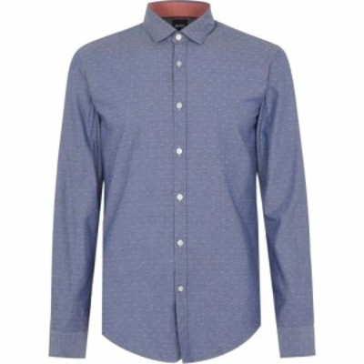ヒューゴ ボス Boss メンズ シャツ トップス Rikki 53 Shirt Blue