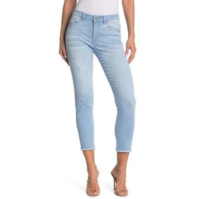 デモクラシー レディース デニムパンツ ボトムス Seamless High Rise Ankle Jeans LB LIGHT B