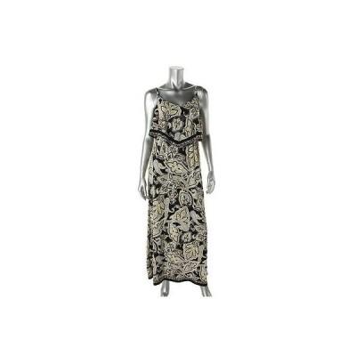 ドレス 女性  インク INC 5667 レディース イエロー Paisley Fly-Away Maxi ドレス XS