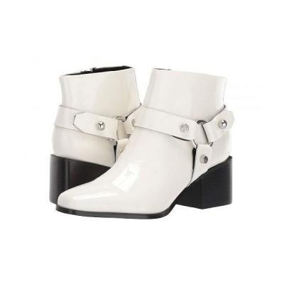 Marc Fisher LTD マークフィッシャーリミテッド レディース 女性用 シューズ 靴 ブーツ アンクルブーツ ショート Gerod - White Patent