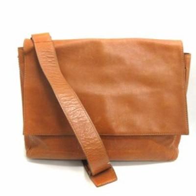 【中古】土屋鞄製造所 土屋鞄 ショルダーバッグ レザー 茶 ブラウン /EK   レディース