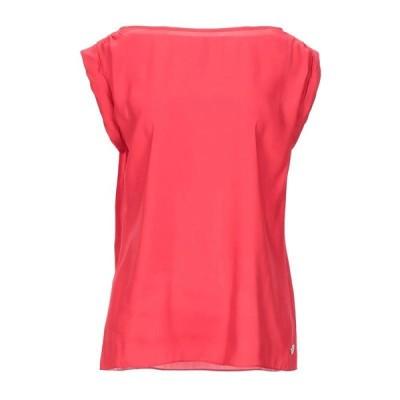 ARMANI JEANS ブラウス ファッション  レディースファッション  トップス  シャツ、ブラウス  長袖 レッド