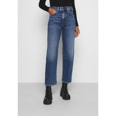 ペペジーンズ レディース デニムパンツ ボトムス DOVER - Straight leg jeans - denim denim