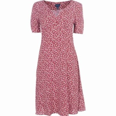 ガント Gant レディース ワンピース ワンピース・ドレス Floral Summer Dress Iron Red