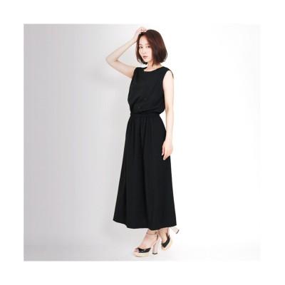 MARTHA(マーサ) アシンメトリーネックロングワンピース (ワンピース)Dress