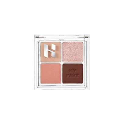 HOLIKA/My Fave Shadow Palette/4区シャドウパレッ/03Rosley/韓国化粧品