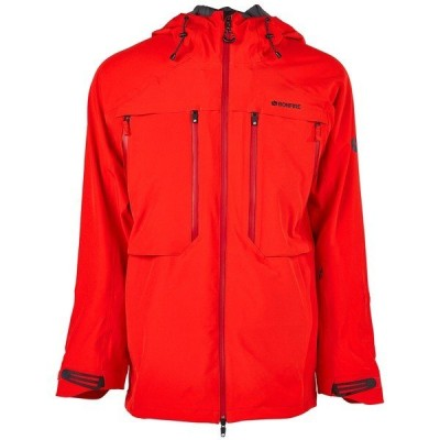 ボンファイヤー メンズ ジャケット&ブルゾン アウター Bonfire Apex 3L Neoshell Stretch Jacket Red