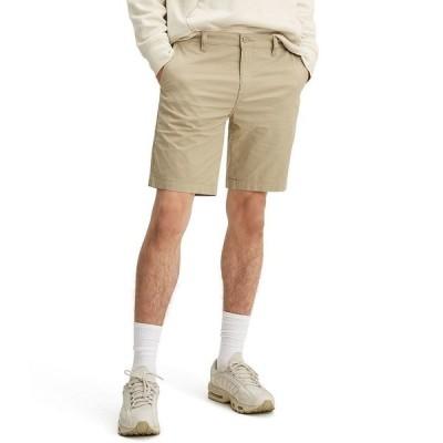 リーバイス メンズ ハーフ&ショーツ ボトムス Levi's Standard Taper Flat-Front 9#double; Inseam Chino Shorts True Chino