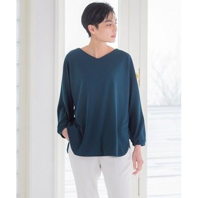 LAUTREAMONT ONLINE SHOP / 【WEB別注】マットストレッチポンチカットソー WOMEN トップス > Tシャツ/カットソー