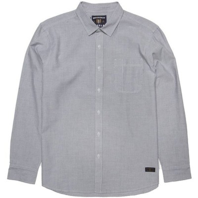 ヴィスラ メンズ シャツ トップス Vissla Woodshop Long-Sleeve Woven Shirt