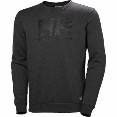 ヘリーハンセン Helly Hansen メンズ ニット・セーター トップス F2F Cotton Sweater Ebony